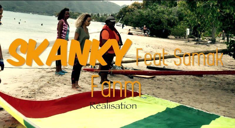 clip skanky feat. samak - fanm