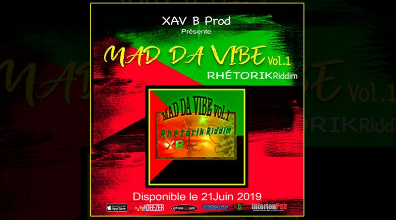 compilation rhetorik riddim - mad da vibe vol.1